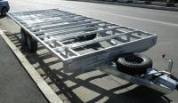 Прицеп -платформа Сантей (под фургон,вагон,домик)